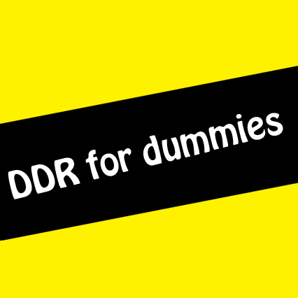DDR for Dummies by mrdave