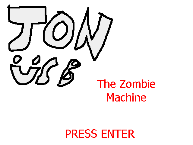 Jon USB (The Zombie Machine) by sanicstudios