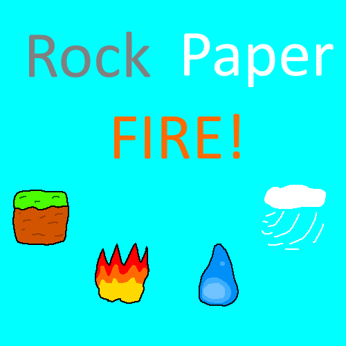 Rock, Paper, FIRE! by chaosthelegend
