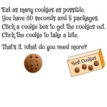 The Cookie Minute by frodewin