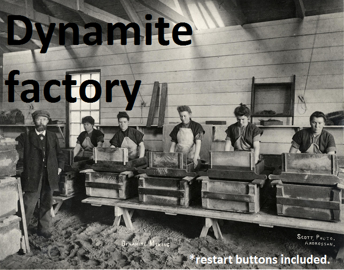 Dynamite Factory by saxus