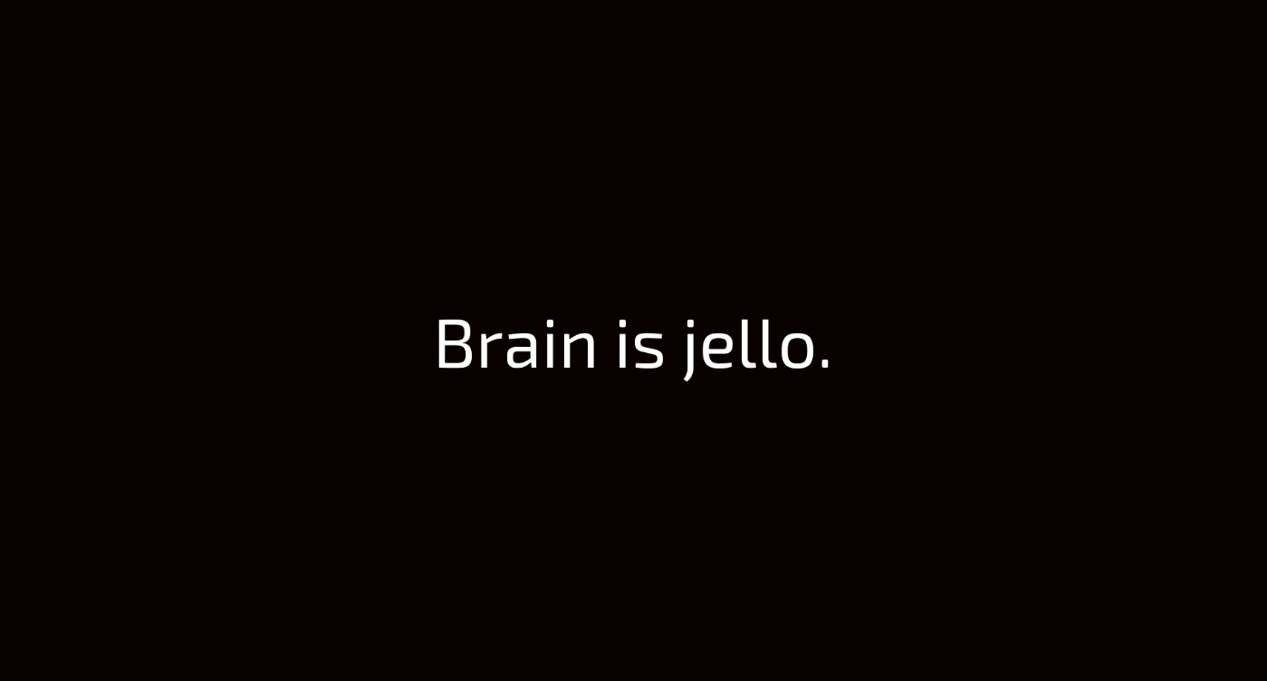 Brain Is Jello by socapex
