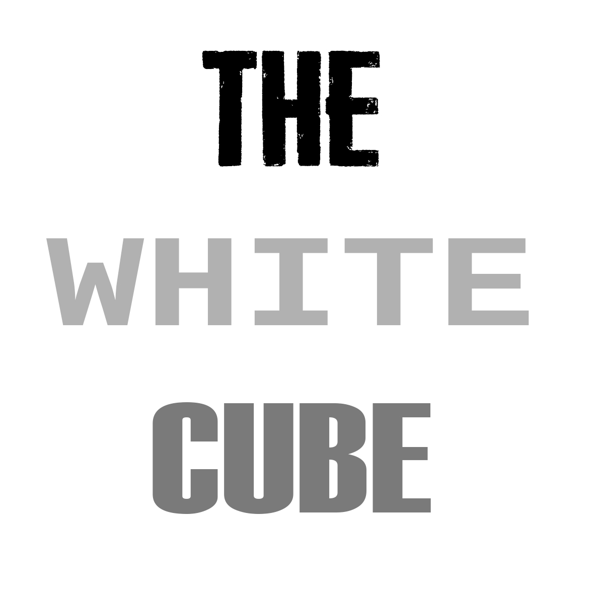 The White Cube by thesloveniandevil