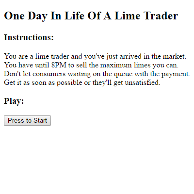 One Day In Life Of A Lime Trader by felladrin