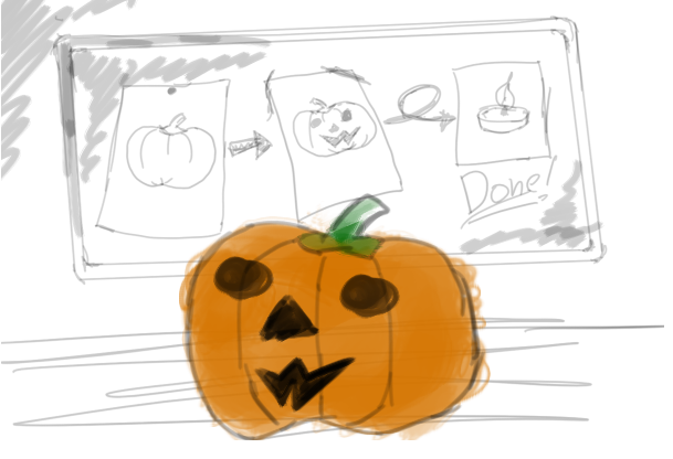 DIY Pumpkin by somethinboutgames