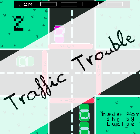 Traffic Trouble by ludipe