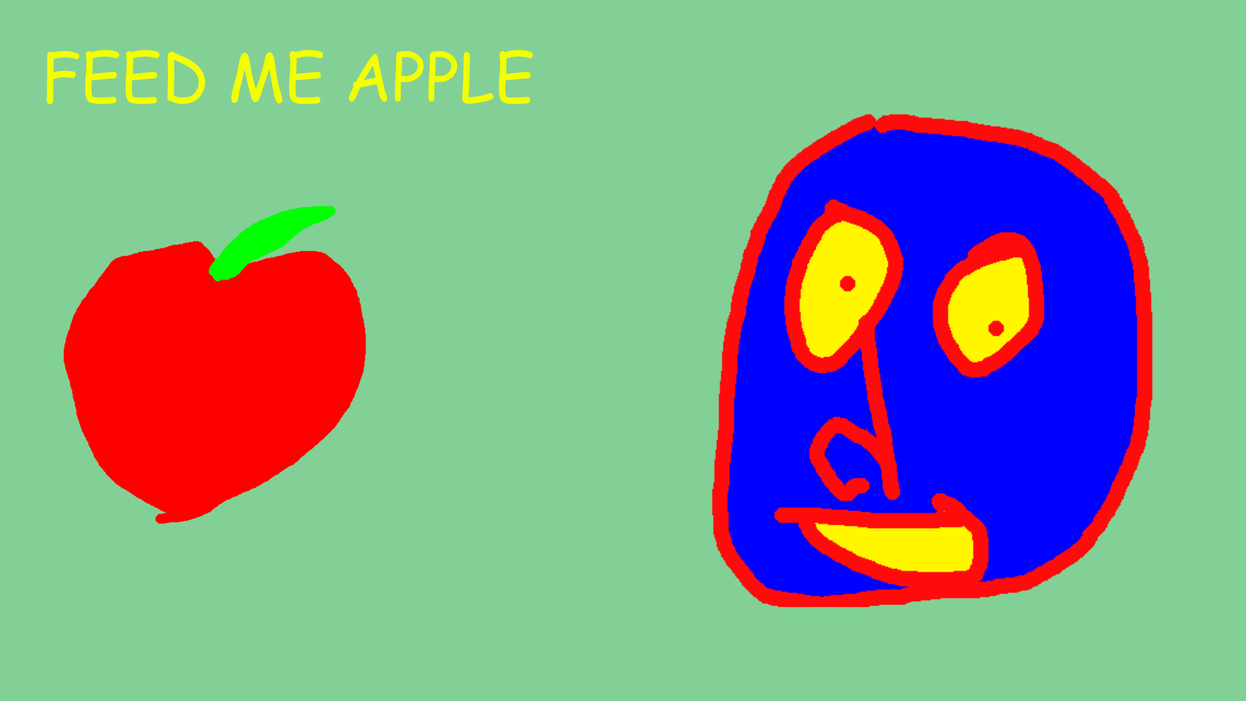 FEED ME APPLE by sebastianscaini