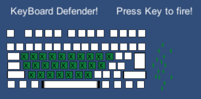 Keyboard Defender by theras