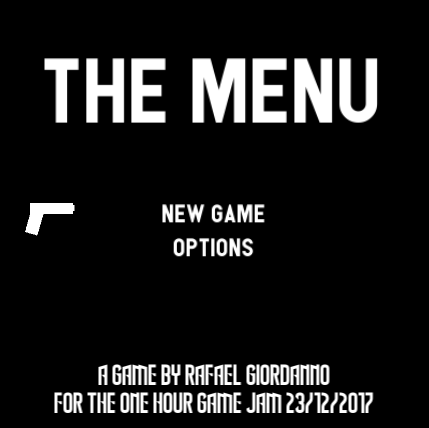 The Menu The Game by rafaelgiordanno