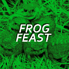 Frog Feast by mymadnessworks