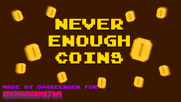 Never enough coins. by ali8888