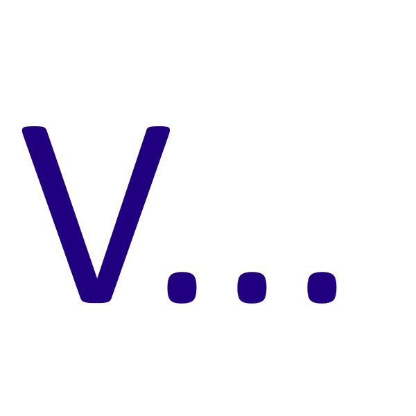 "Letter ""V"" by ido"