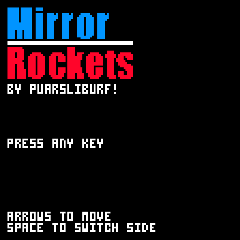 Mirror Rockets by puarsliburf