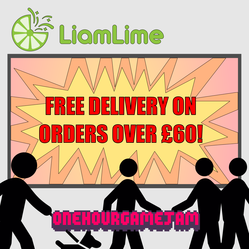 Free Delivery On Orders Over £60! by liamlime