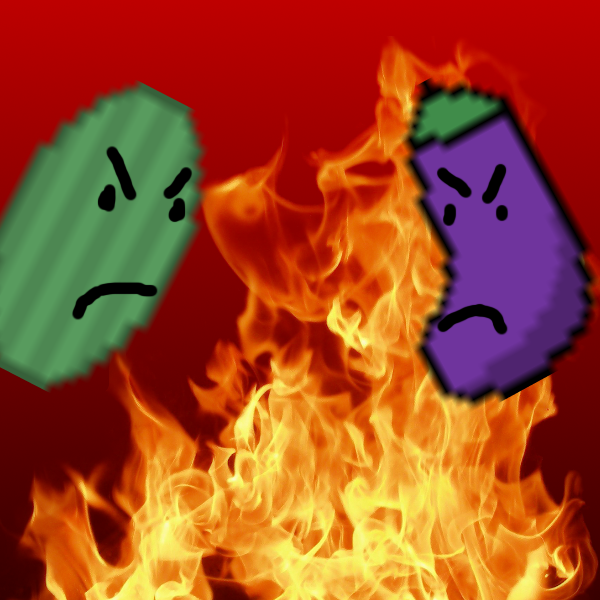 Eggplant Battle Royal by chaosthelegend