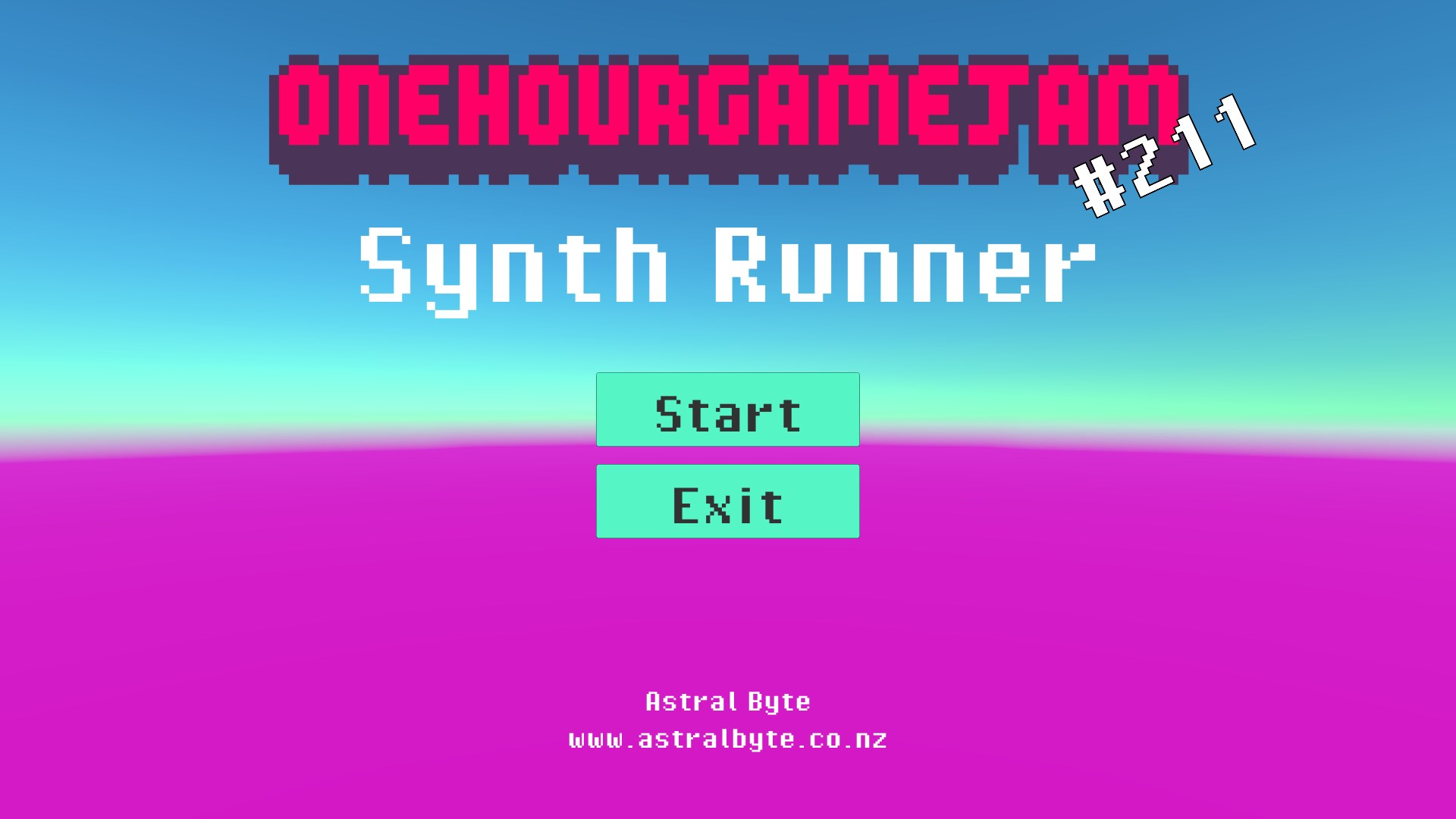 Synth Runner by astralbyte