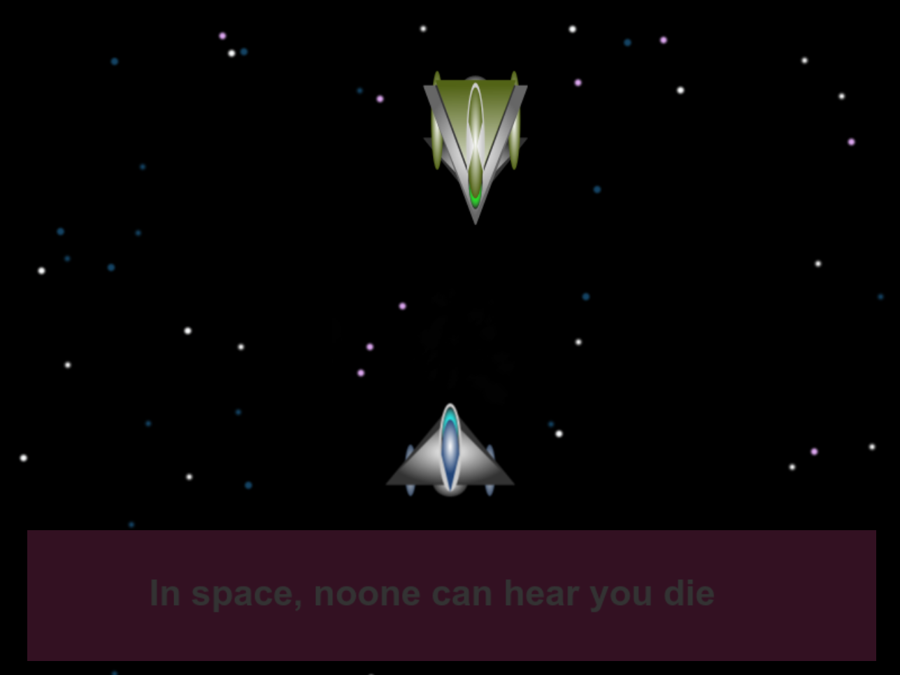 In space, noone can hear you die by dollarone