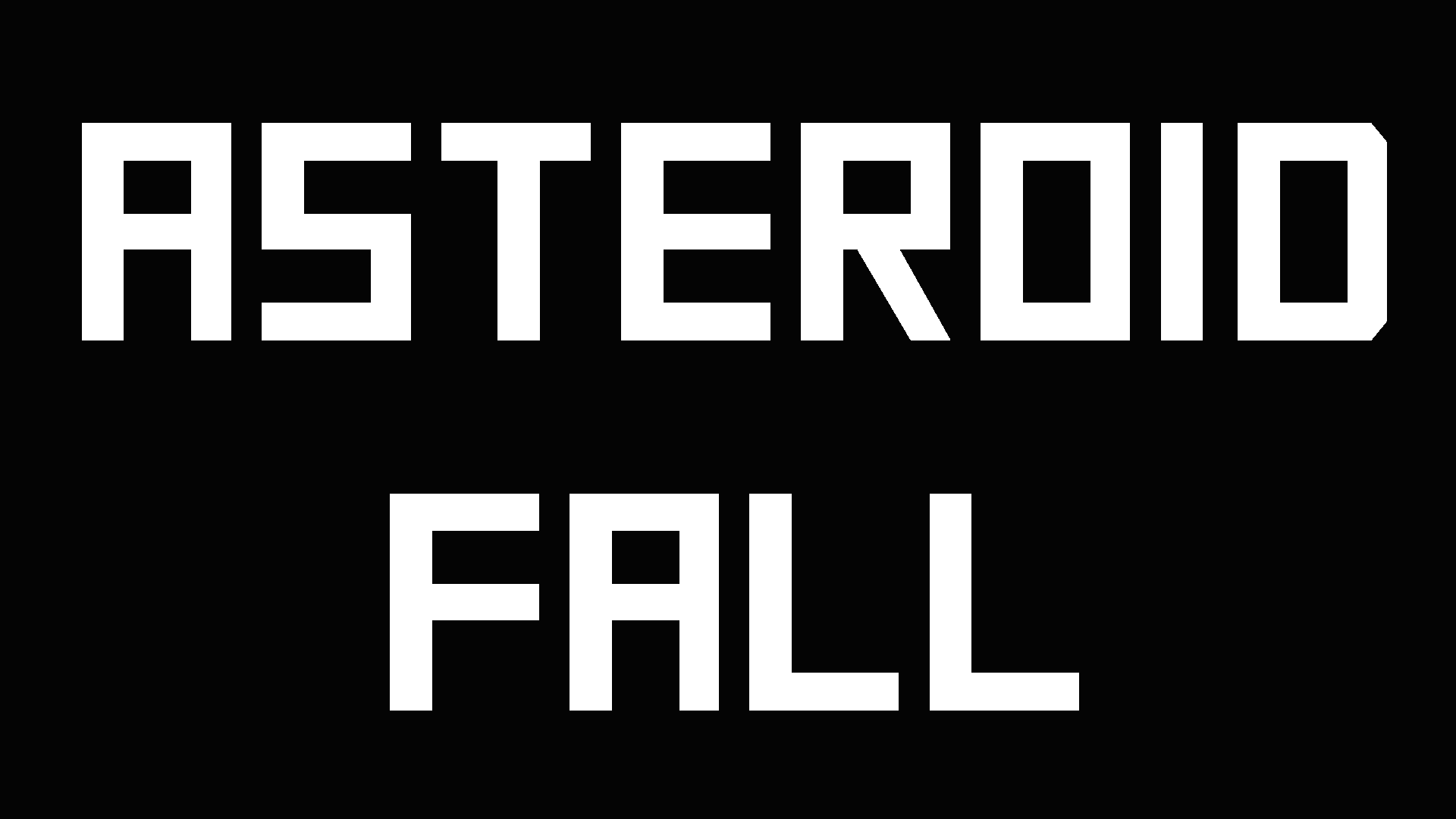 Asteroid Fall by