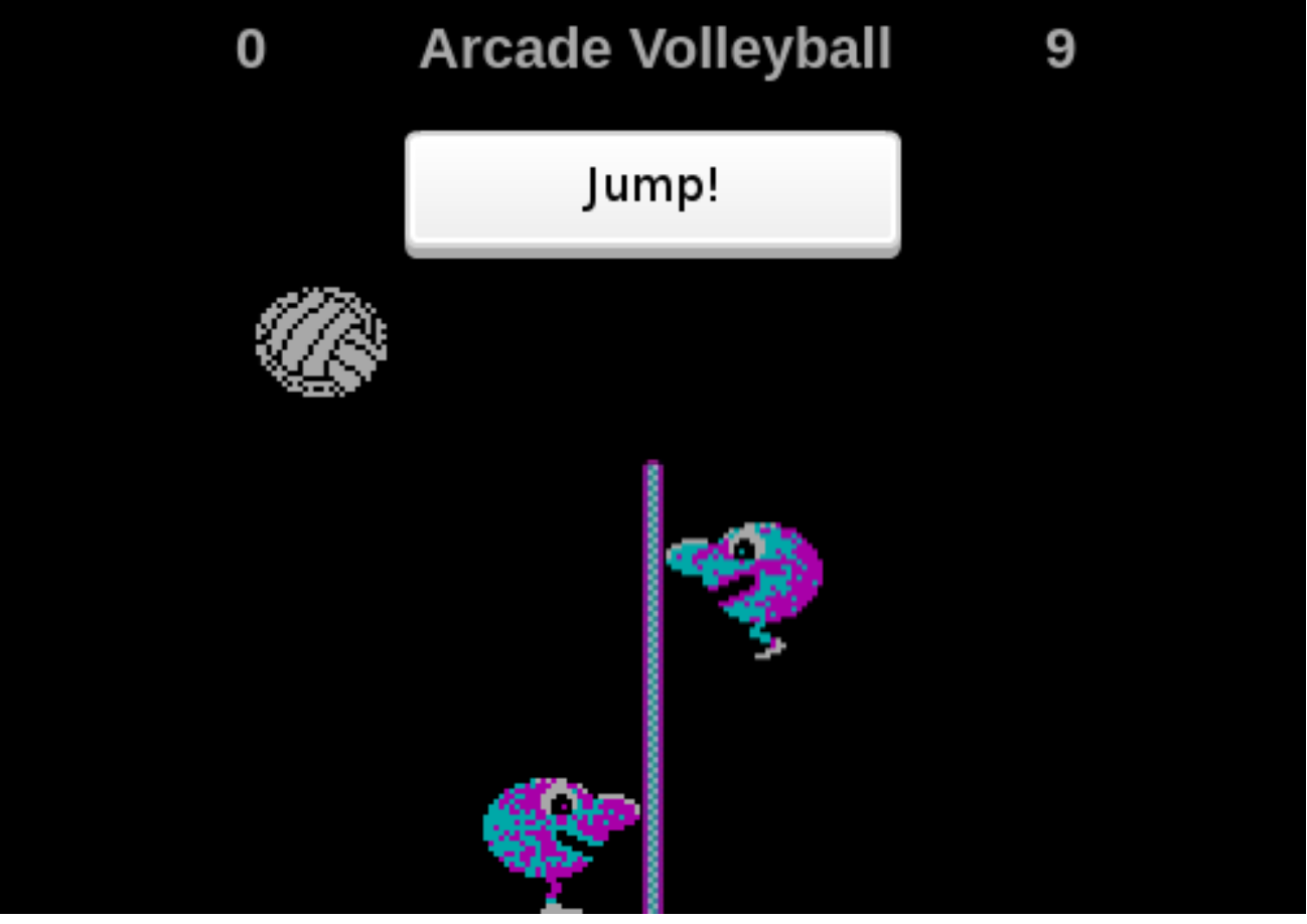 Arcade Volleyball by dollarone
